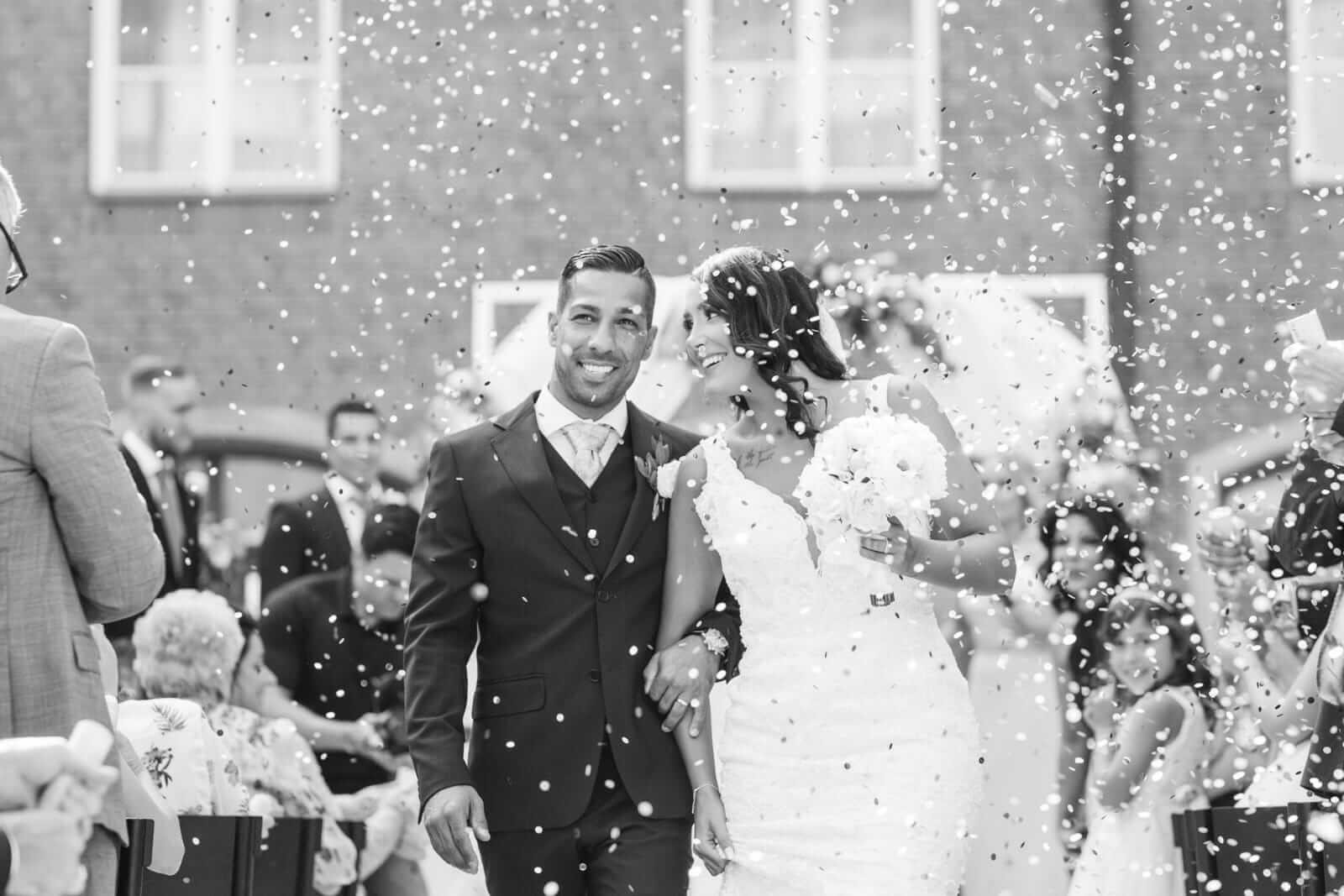 Vackert bröllops par från Linköping som valde CakeByMelina för bröllopstårta